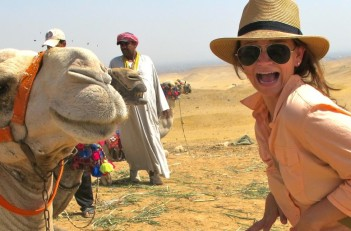 Angie Orth Camel Egypt
