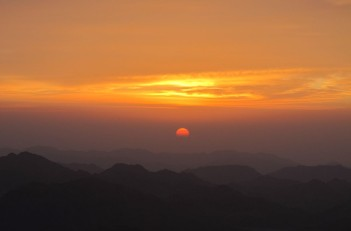 Sunrise Mt. Sinai Egypt