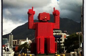 Coca Cola Man - Cape Town