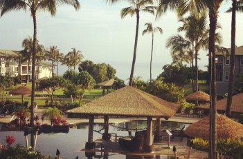 Poolside at the Westin Princeville