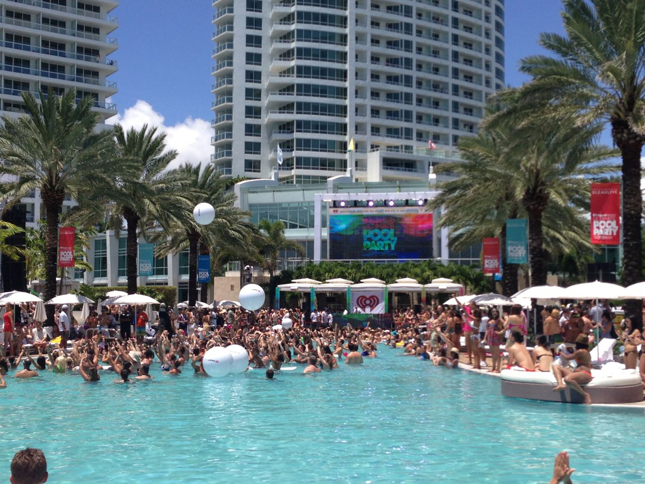The Ultimate Pool Party begins!
