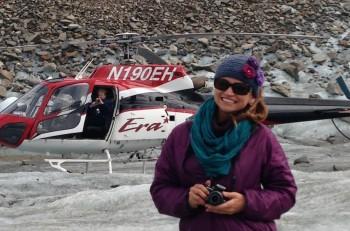 Glacier trekking in Denali
